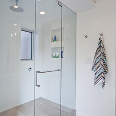 Modern Bathroom by Wanda Ely Architect Inc.