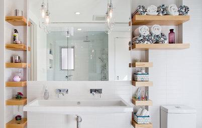 20 astuces rangement pour optimiser une petite salle de bains