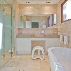 Contemporary Bathroom by Kristie Paul