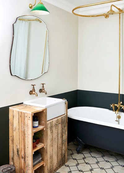 Traditional Bathroom by Huxley Home Design Group