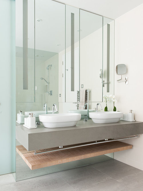 His and hers sinks houzz for His and hers bathroom