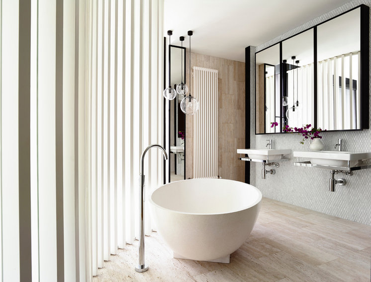 Contemporary Bathroom by Kennedy Nolan