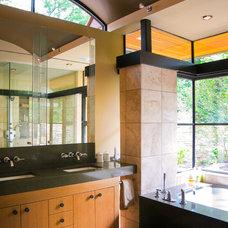 Asian Bathroom by Bjella Architecture and Interior Design
