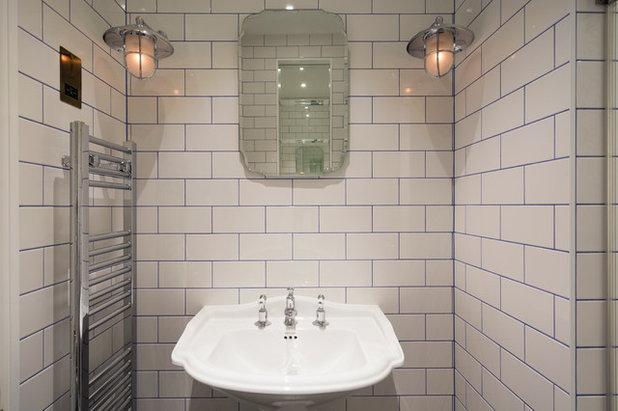 Transitional Bathroom by Domus Nova