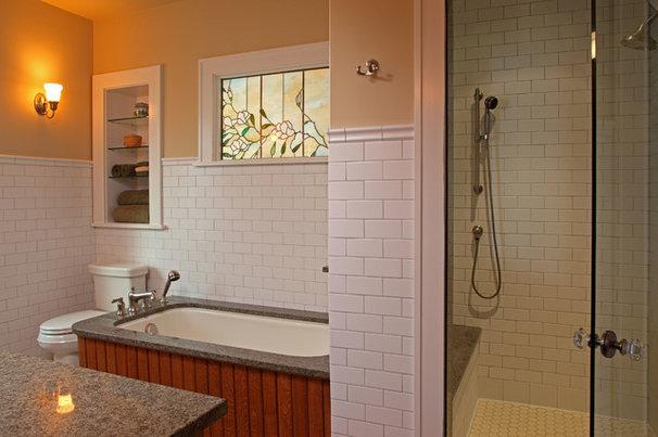 Craftsman Bathroom by David Heide Design Studio