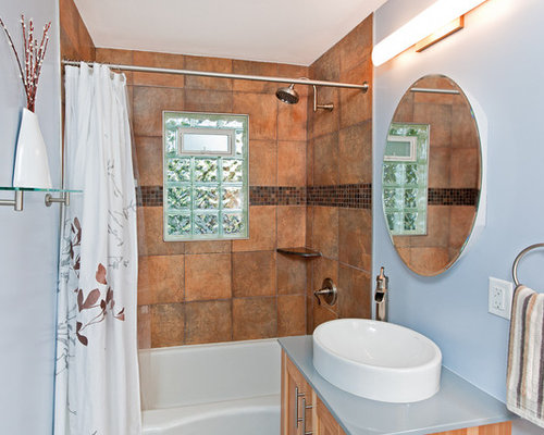 Inspiration For A Timeless Bathroom Remodel In Minneapolis With A Vessel  Sink Part 86