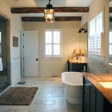 Farmhouse Bathroom by Stacye Love Construction & Design, LLC