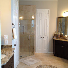 contemporary bathroom by Rhonda Ferguson, Interiors Refined LLC