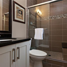 Contemporary Bathroom by KASHMIR DHALIWAL FINE REDESIGN.