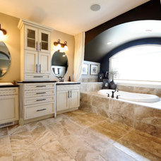 Traditional Bathroom by Boller Media Productions