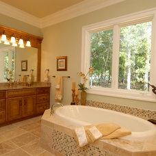 Traditional Bathroom by Dewan Cabinetry