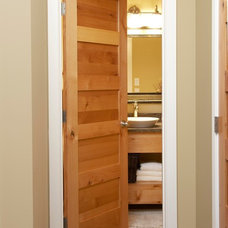 Traditional Bathroom by Stallion Doors and Millwork