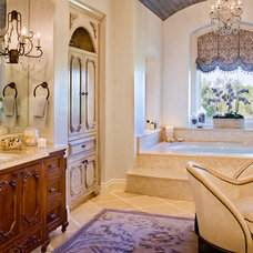 Traditional Bathroom by Bravo Interior Design
