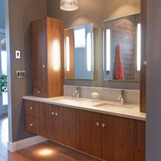 Contemporary Bathroom by Stuart Wood Joinery