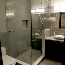 Modern Bathroom by My House Design Build Team