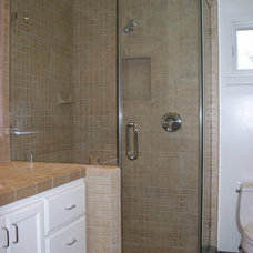 Traditional Bathroom by Algami Glass Doors