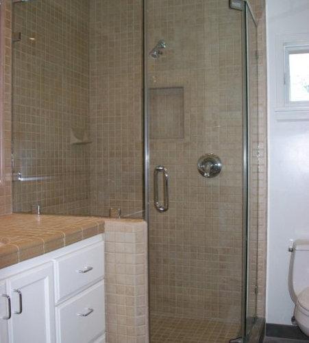 Semi Frameless Shower Door Houzz