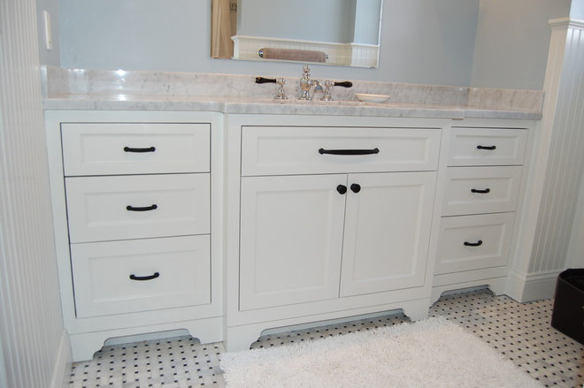 Traditional Bathroom by John Samuel Custom Cabinetry