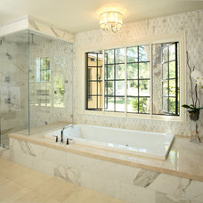 Traditional Bathroom by Construction Services