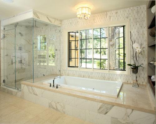 Best 30 Master Bathroom with a Hot Tub Ideas Photos Houzz