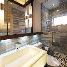 Contemporary Bathroom by Michael Kilpatrick Design