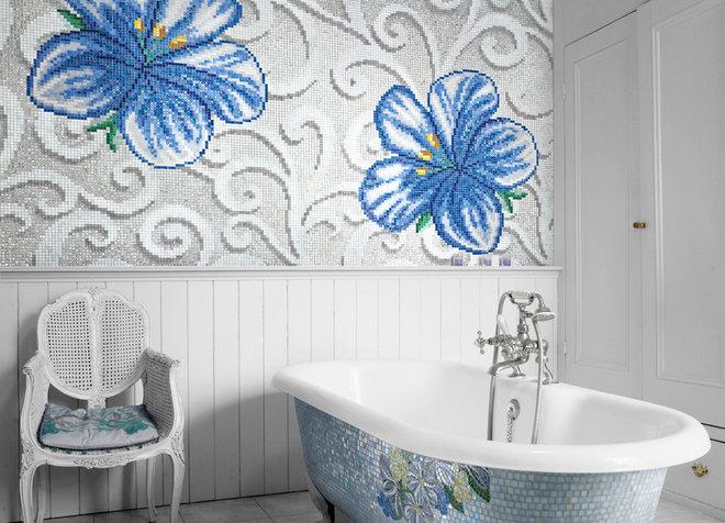 Фьюжн Ванная комната by SICIS