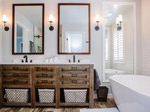 Stunning  Stunning Vanities From Popular New Bathrooms