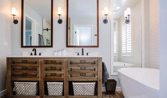 Stapleton Farmhouse Contemporary Bathroom