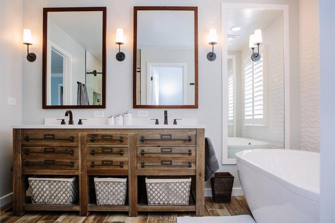 Farmhouse Bathroom by TVL Creative Ltd.