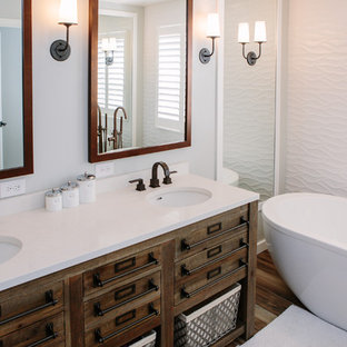 Stapleton Farmhouse Contemporary Bathroom