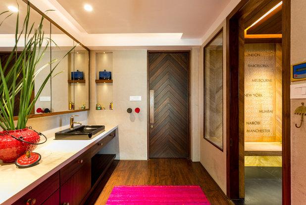 Asian Bathroom by Shabnam Gupta