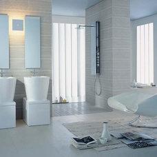 Modern Bathroom by Studio41 Home Design Showroom