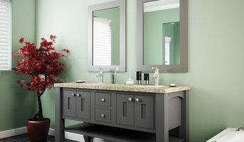 StarMark Cabinetry Bathroom in Mackay inset door style