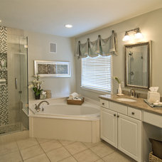 Contemporary Bathroom by StarrMiller Interior Design, Inc.