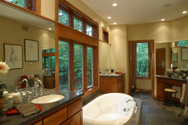 Eclectic Bathroom by Landsted Companies, LLC