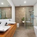 Martin House Contemporary Bathroom Melbourne By Bg Architecture