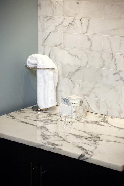 Traditional Bathroom Countertops by Global Granite & Marble