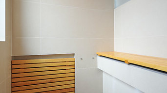 Steam-Sauna-Shower - Steam sauna and shower in one unit