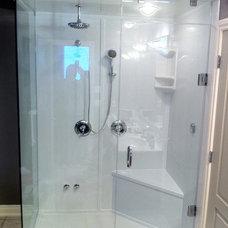 Contemporary Bathroom by Calgary Bathworks