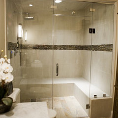 contemporary bathroom by Collins Tile and Stone