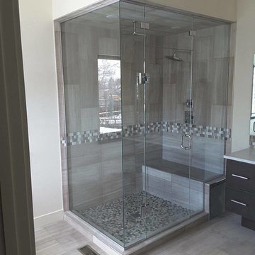 Steam Shower Glass