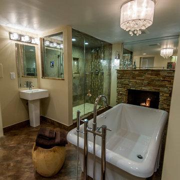 Steam Shower Master Bathroom