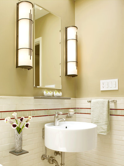 Traditional Bathroom by Templer Interiors