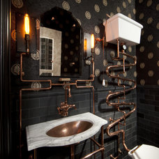 Eclectic Bathroom by Andre Rothblatt Architecture