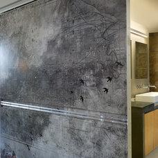 Contemporary Bathroom by Bob Greenspan Photography