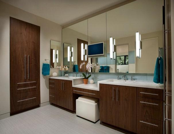 Contemporary Bathroom by Identity Construction