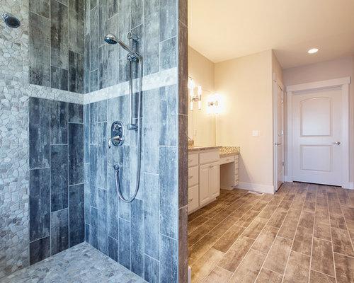 badezimmer mit porzellan bodenfliesen und bidet design ideen beispiele f r die badgestaltung. Black Bedroom Furniture Sets. Home Design Ideas