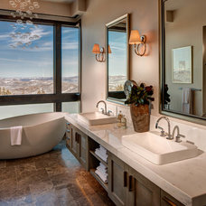 Contemporary Bathroom by Alan Blakely Architectural Photography