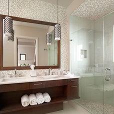 Contemporary Bathroom by Crown Designs