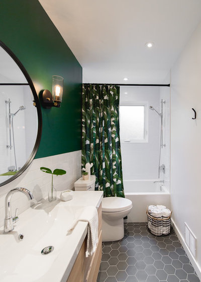 Modern Bathroom by Stéphanie Fortier Design